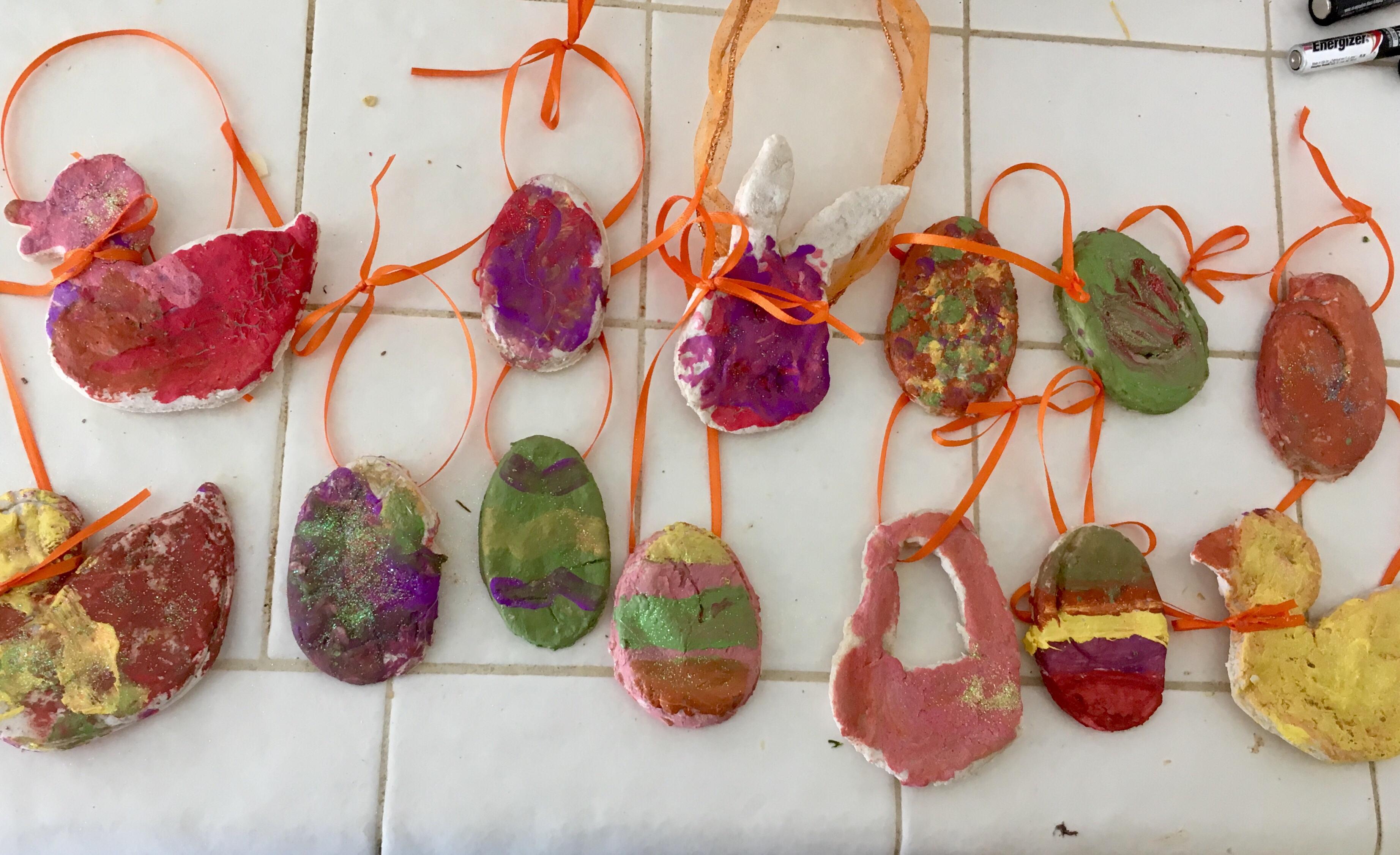 salt dough easter crafts cecelia s spot